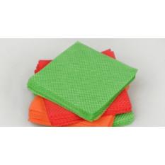 Безворсовые салфетки разноцветные мини 3,5х7,0 см Panni Mlada (50 шт / уп.) спанлейс