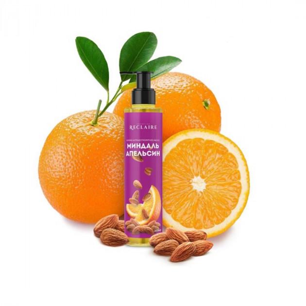 Горячее антицеллюлитное масло для тела Миндаль-апельсин Reclaire 200 мл