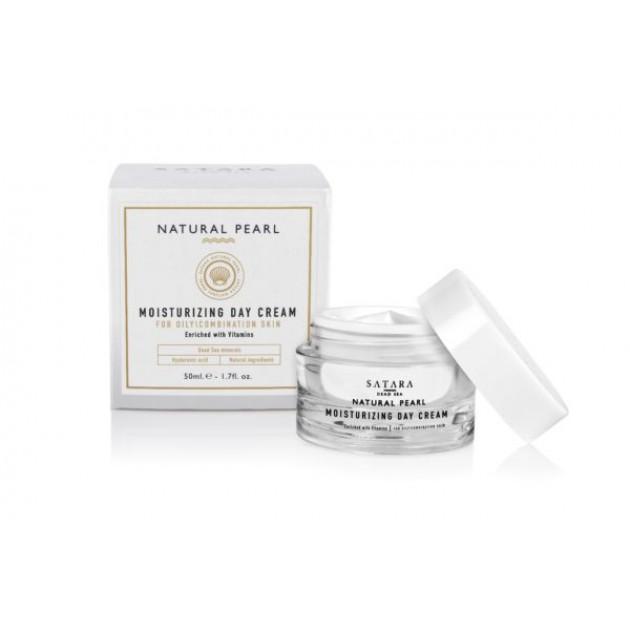 Дневной увлажняющий крем для жирной и комбинированной кожи с витаминами 50 мл Satara Moisturizing Day Cream