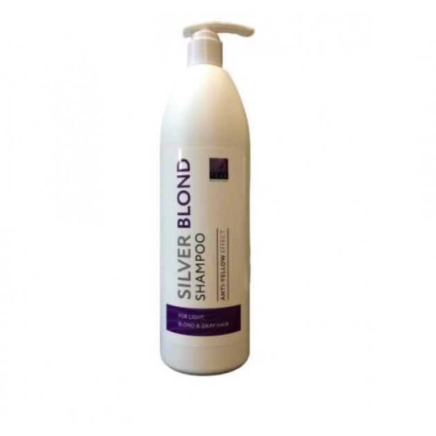 Шампунь для нейтрализации желтизны Teya Silver Blond Shampoo 1000 мл