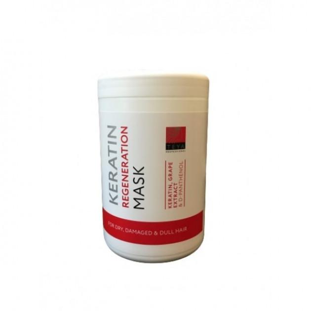 Маска для волос кератиновая регенерация Teya Professional Keratin Regeneration 1000 мл