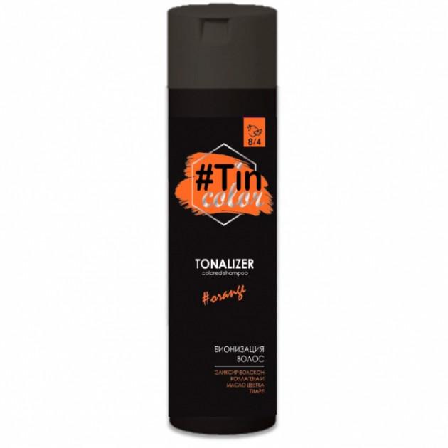 Тонирующий шампунь оттенок Сочный апельсин 8/4 Acme Tin Color 250 мл