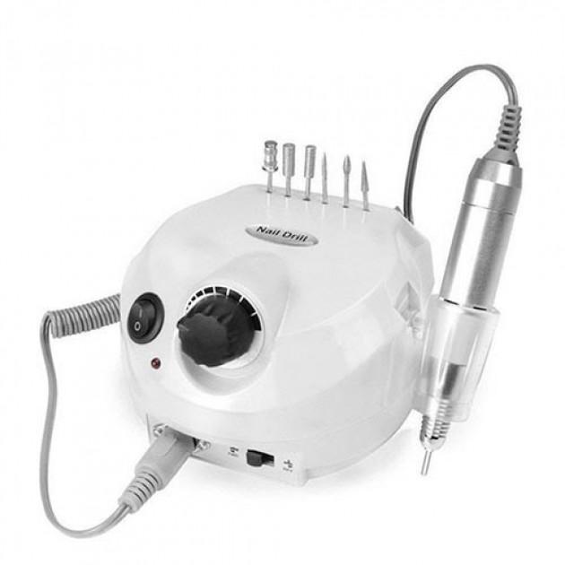 Фрезер для маникюра Nail Drill ZS-601 PRO White на 45 Вт./35000 оборотов