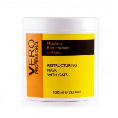 Восстанавливающая маска с экстрактом овса 1000 мл, Vero Professional