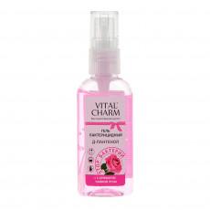 Антибактериальный гель для рук с ароматом чайной розы  Vital Charm 50 мл