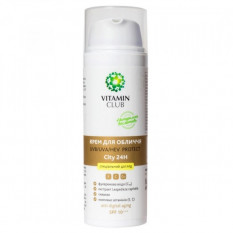 Крем для лица UVВ-UVА-HEV Protect City24H 50 мл Vitamin Club