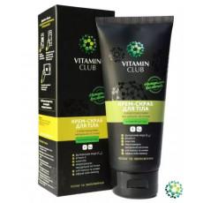 Крем-скраб для тела с микрогранулами миндальной косточки 200 мл Vitamin Club