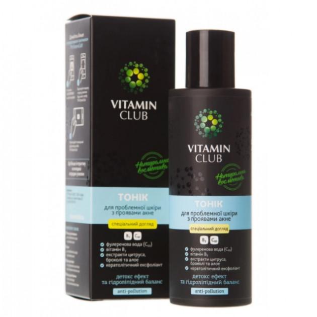 Тоник для проблемной кожи с проявлениями акне Vitamin Club 150 мл