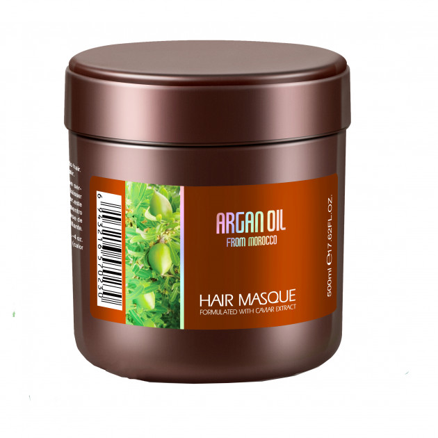 Маска для волос с экстрактом икры Bingo Morocco argan oil 500 мл