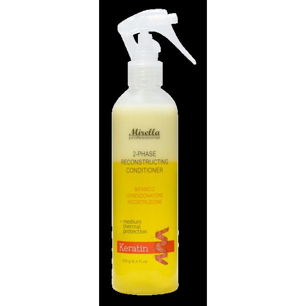 Двухфазный спрей-кондиционер для поврежденных волос 250 мл, Mirella Professional 2-phase Conditioner