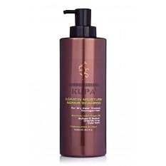 Увлажняющий шампунь для восстановления волос 1000 мл, Bingo Keratin
