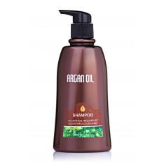 Безсульфатный шампунь для волос с аргановым маслом 350 мл, Bingo Morocco argan oil