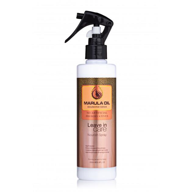 Спрей для питания и восстановления волос с маслом марулы 250 мл, Bingo Marula oil