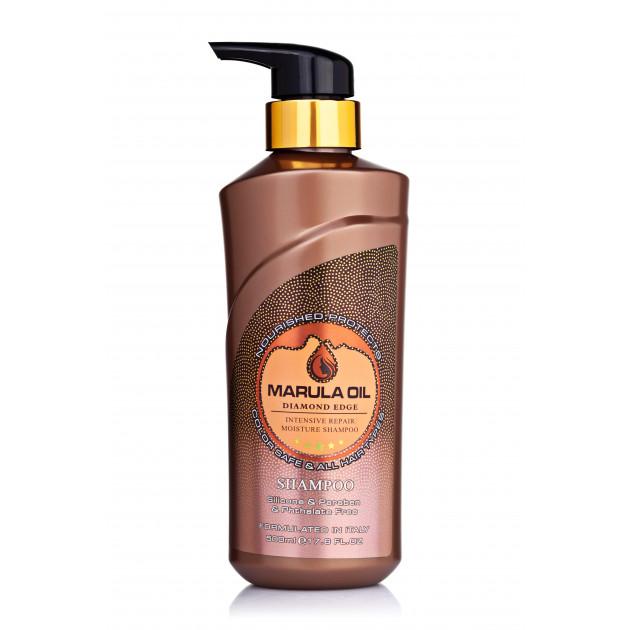 Шампунь для поврежденных волос с маслом марулы 500 мл, Bingo Marula oil