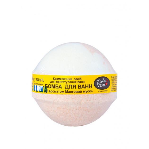 Бомба для ванны Манговый мусс DolceVero 75 г