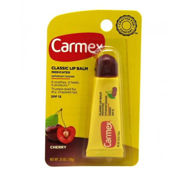 Бальзам для губ с ароматом вишни (туба) 10 г, Carmex