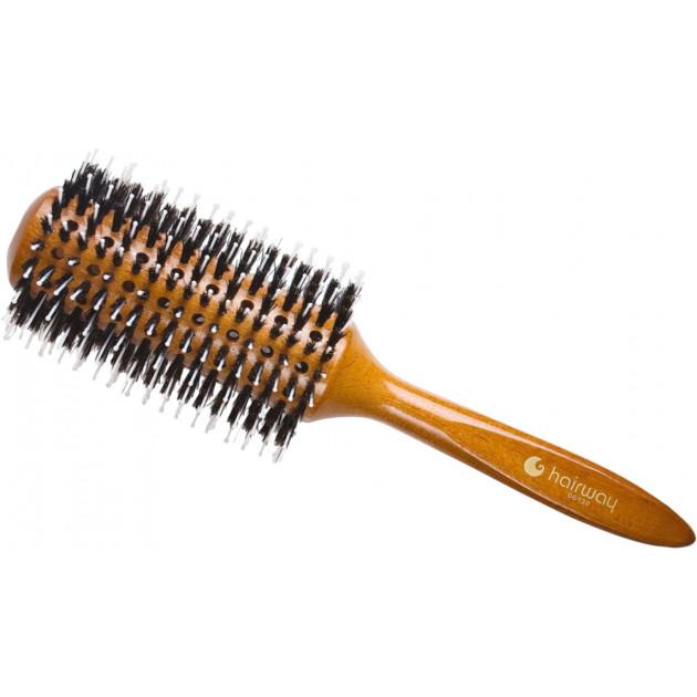 """Брашинг со смешанной щетиной """"дикообраз"""" 74 мм 06130, Hairway"""