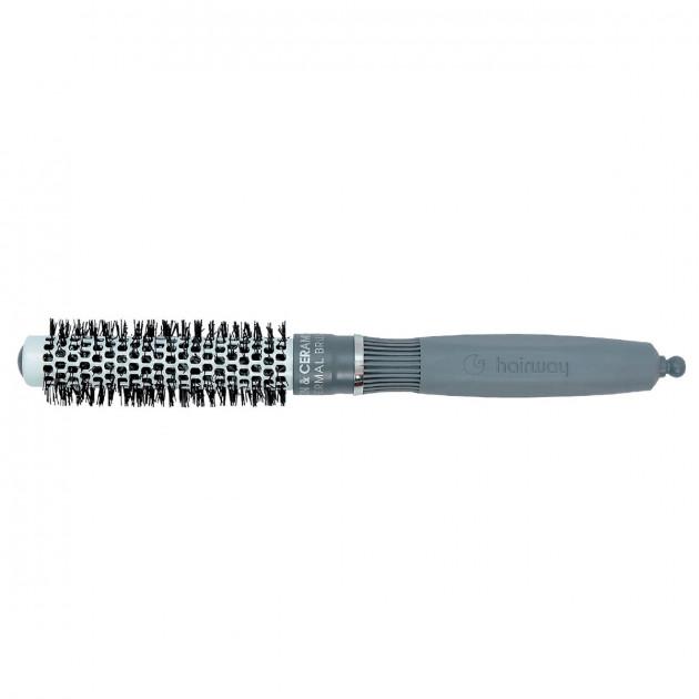 Термобрашинг керамико-ионный с разделителем 20 мм 07117, Hairway
