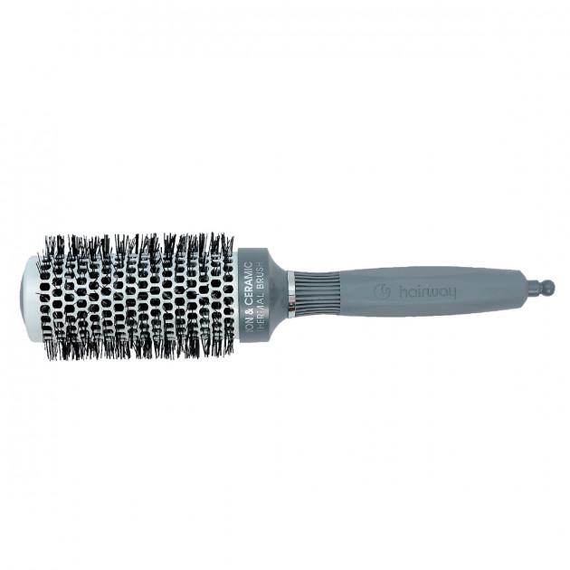 Термобрашинг керамико-ионный с разделителем 43 мм 07120, Hairway