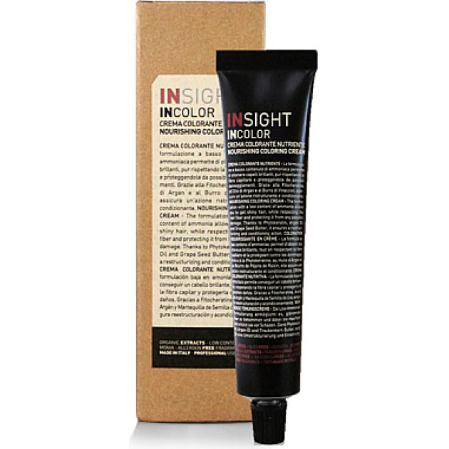Краска для волос 6.07 холодный шоколад темный блондин 100 мл, Insight Incolor