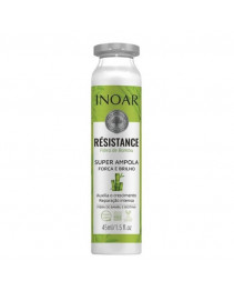 Ампула для восстановления и ламинирования волос Бамбук 45 мл Inoar Résistance Bamboo Fiber