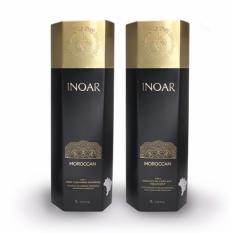 Кератиновое выпрямление для слабых волос набор Inoar «Иноар Марокко» 2*60 мл