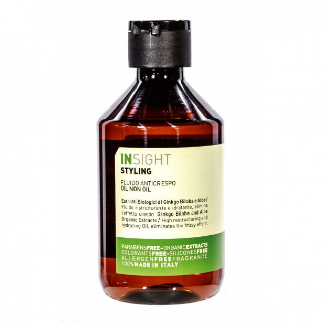 Масло для волос на основе биодинамического экстракта гинкго билоба и алоэ 250 мл, Insight