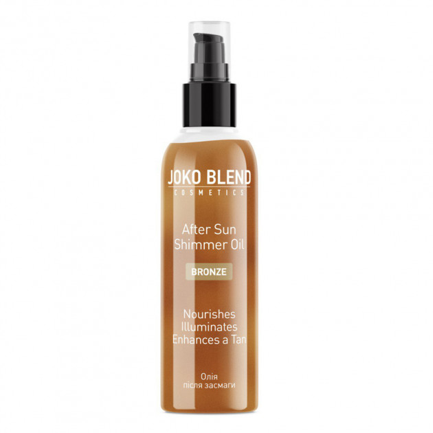 Масло после загара с шиммером After Sun Shimmer Oil Bronze 100 мл, Joko Blend