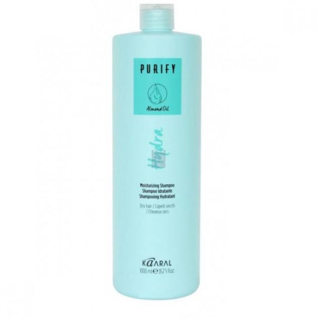 Увлажняющий шампунь для сухих волос 1000 мл, Kaaral Hydra