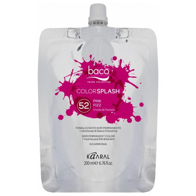 Полуперманентный краситель Kaaral Baco ColorSplash 52 Pink Fizz 200 мл