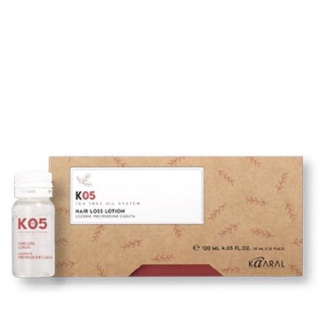 Лосьон против выпадения волос 12*10 мл, Kaaral K05