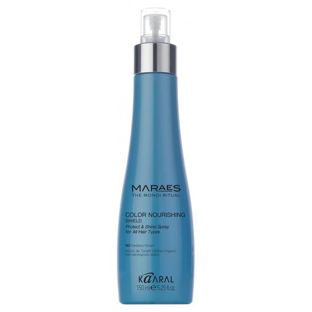 Защитный несмываемый спрей для окрашенных волос 150 мл, Kaaral Maraes Color Shield