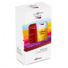 Набор(Шампунь после окрашивания Colorpro300мл+оттеночный кондиционер для волос Sunflower Blonde солнечный блонд 175мл) Kaaral Baco ColorFresh