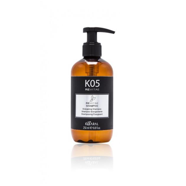 Тонизирующий шампунь для волос 250 мл REVITAE K05, Kaaral