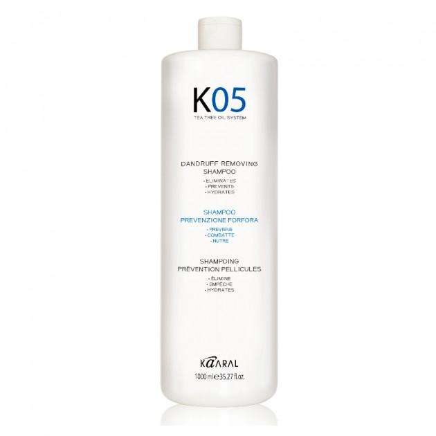 Шампунь против перхоти 1000 мл, Kaaral K05 Dandruff Removing Shampoo