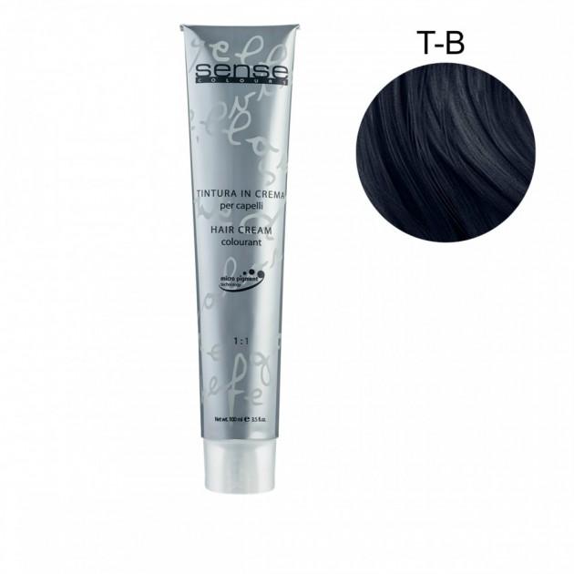 Стойкая краска для волос T-B синий корректор 100 мл, Kaaral Sense Colours