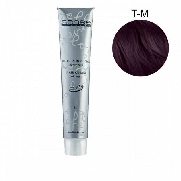 Стойкая краска для волос T-M фиолетовый корректор 100 мл, Kaaral Sense Colours