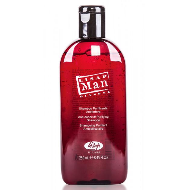Шампунь для нормальных волос для мужчин Lisap Man Densifying Shampoo for Normal Hair 250 мл