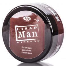Матирующий воск для укладки волос для мужчин Lisap Man Semi-Matte Wax 100 мл