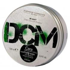 Матовый воск для укладки волос сильной фиксации DCM Matt Wax 100 мл