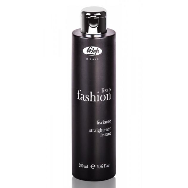 Разглаживающий крем для непослушных кудрявых волос Lisap Fashion Straightener 200 мл