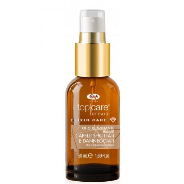 Масло для блеска волос Lisap Elixir Care shining oil 50 мл