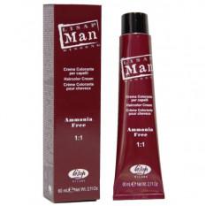 Краситель для мужчин 5 светлый каштан 60 мл , Lisap Man Color