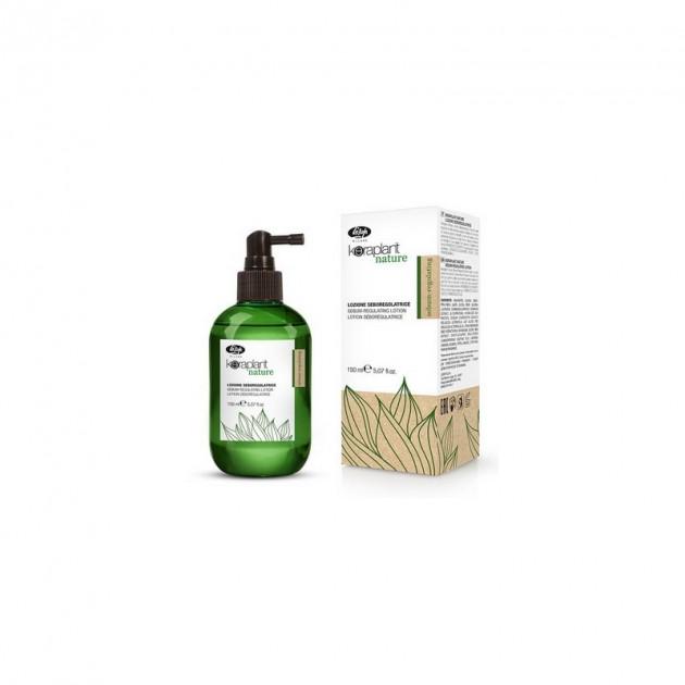 Лосьон для регулирования жирности волос 150 мл Sebum-regulating Keraplant, Lisap