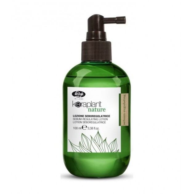 Лосьон для регулирования жирности волос 100 мл Sebum-regulating Keraplant, Lisap