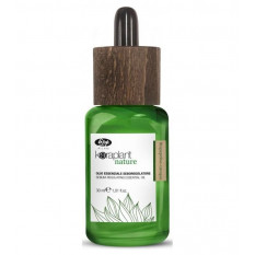 Масло для регулирования жирности волос 30 мл Sebum-regulating essential oil Keraplant, Lisap