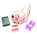 Фрезер для маникюра Nail Drill ZS-601 PRO Pink на 45 Вт./35000 оборотов