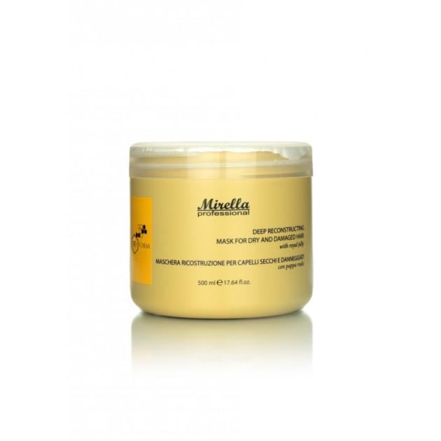 Маска для сухих и поврежденных волос 500 мл, Mirella Professional BeeForm
