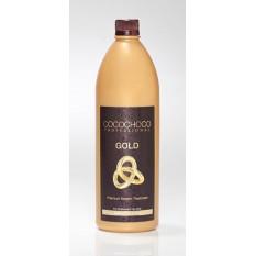 Кератиновое выпрямление волос KERATIN GOLD 1000 мл, Cocochoco
