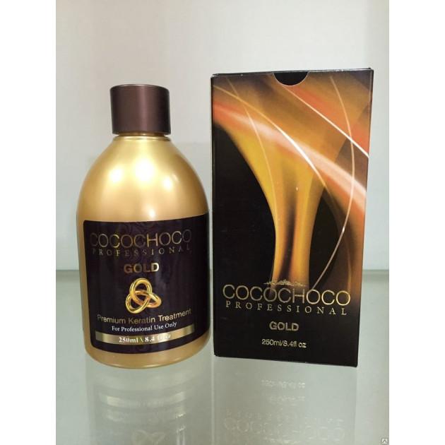 Кератиновое выпрямление волос KERATIN GOLD 100 мл, Cocochoco